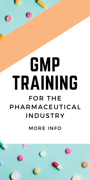 GMP Training for Pharmaceutical Industry